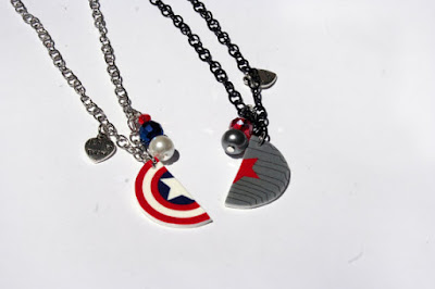 Captain America Inspired Necklaces