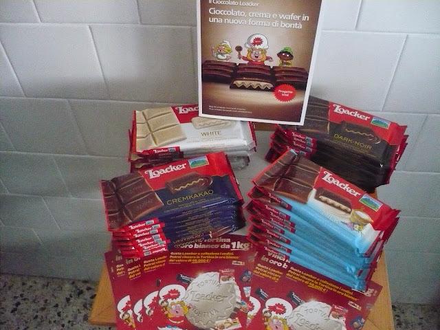 La bontà del cioccolato Loacker