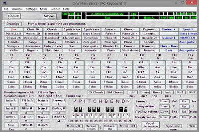 Cara Mudah Menciptakan Lagu Midi Menggunakan One Man Band