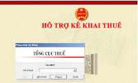 Công cụ hỗ trợ kê khai thuế - Phần mềm HTKK 3.8.4