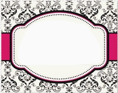 Bracket Shape- FREE Templates! Cards \ Envelopes Pinterest - free label templates for word