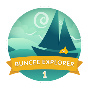 My first Buncee badge