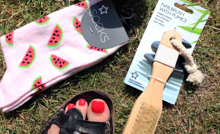 Summer Holidays: Beach Ready Feet with Superdrug