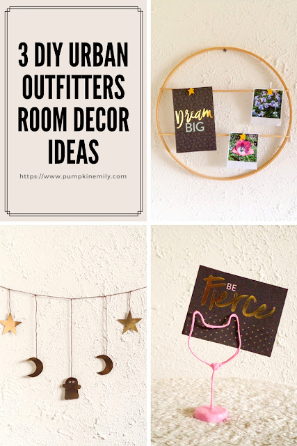 3 DIY Urban Outfitters Room Decor Ideas
