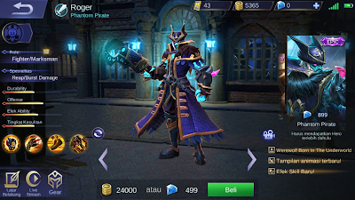 Skin roger phantom pirate