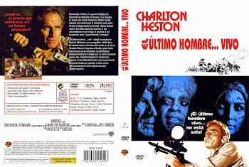 Carátula dvd: El último hombre vivo (1971) (The Omega Man)