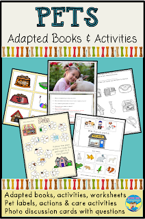 https://www.teacherspayteachers.com/Product/Adapted-Books-for-Autism-and-Speech-PETS-Themed-Activities-3121563