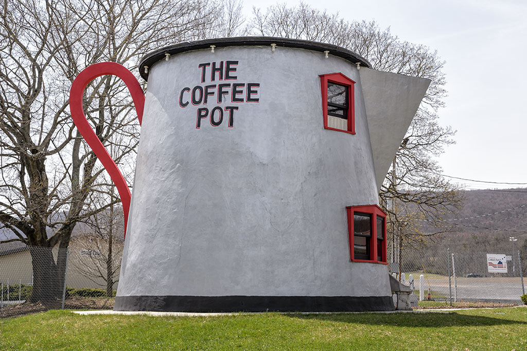 Bedford Coffee Pot Building on the Lincoln Highway