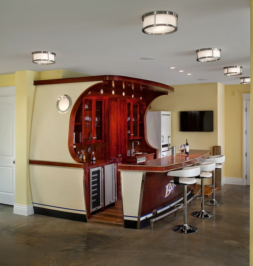 Home Entertainment Spaces: Home Entertainment Spaces: In Home Bars