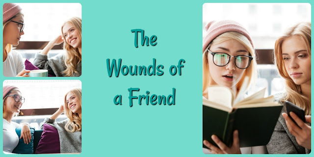 """Are you willing to have friends who """"stab you in the front""""? This 1-minute devotion explains why you should welcome such friends into your life. #BibleLoveNotes #Bible"""