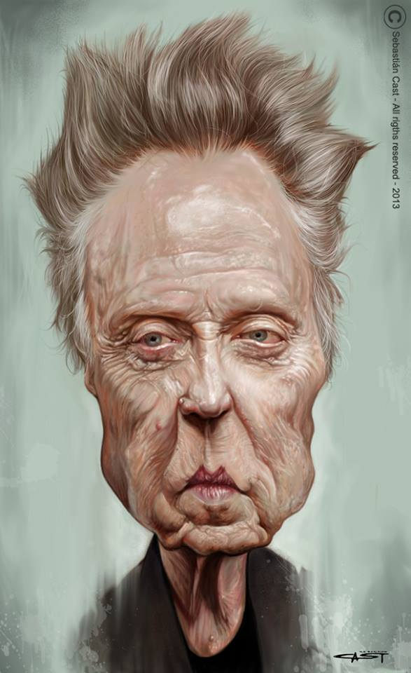 Christopher Walken por Sebastián Cast
