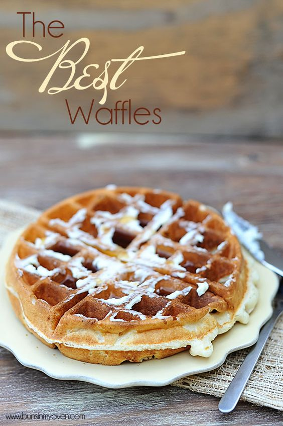 The Very Best Waffles