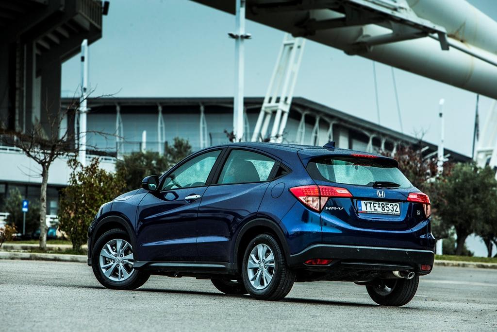 Honda%2BHR V%2BAction%2B%25286%2529%2B%25281%2529 Νέο Honda HR-V : Το πολυμορφικό SUV