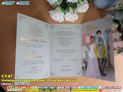 Undangan Pernikahan Lipat 3 Dyas Dan Guntoro