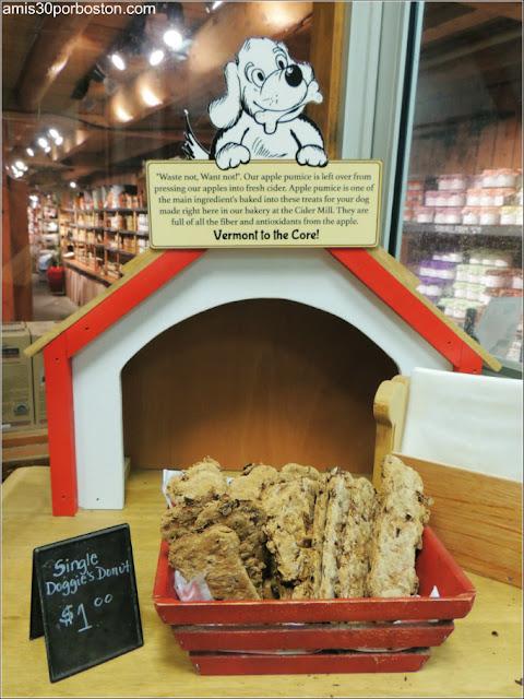 Dulces para Perros de la Cold Hollow Cider Mill en Vermont