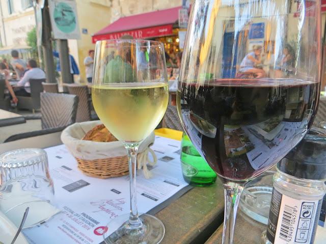 Wine, Avignon, Provence, France