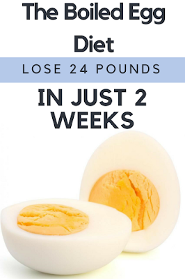 The Boiled Egg Diet – Lose 24 Pounds In Just 2 Weeks