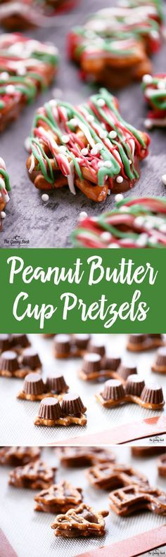 Peanut Butter Cup Pretzels Recipe