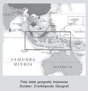 Rangkuman Materi Kondisi Fisik Wilayah Indonesia