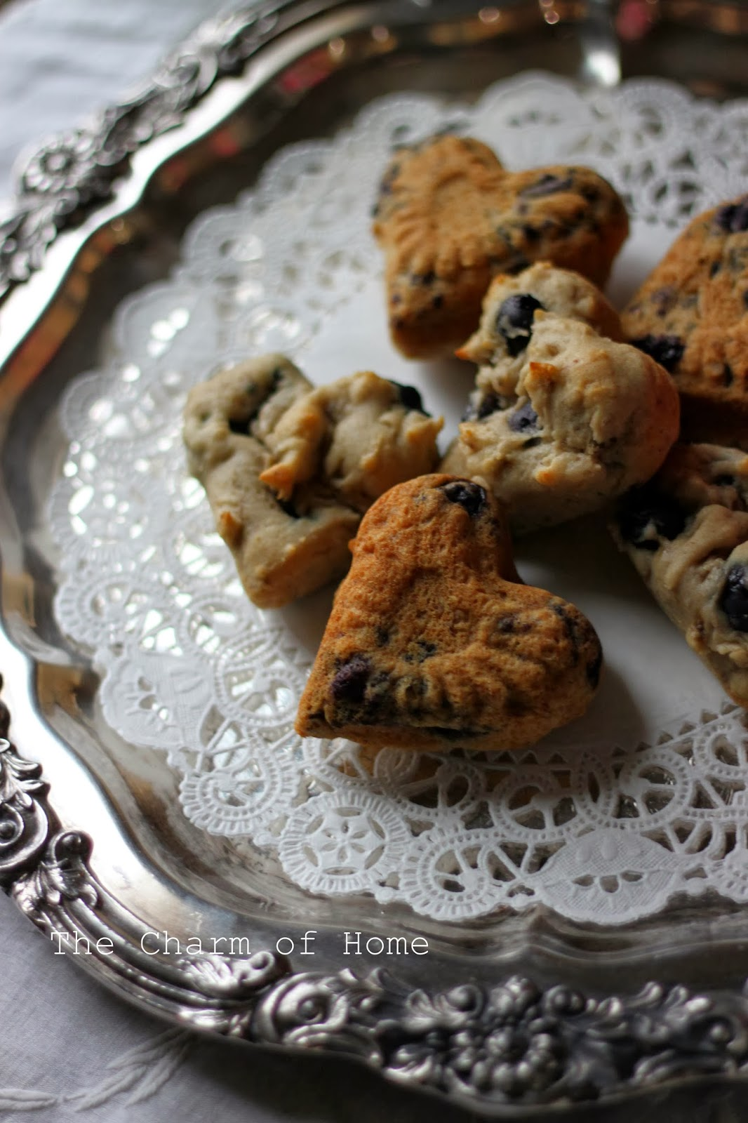 Gluten Free Blueberry Banana Muffins, The Charm of Home