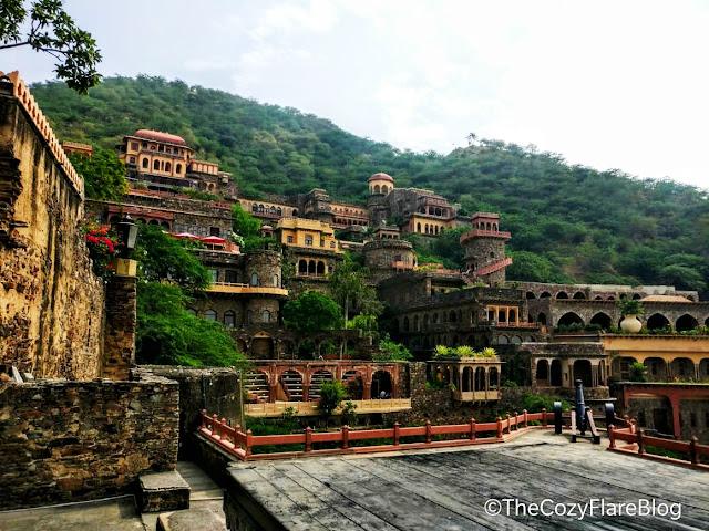 Neemrana fort Palace, Explore Rajasthan, Heritage hotel, Thecozyflareblog, Neemrana View, weekend gateway Delhi NCR