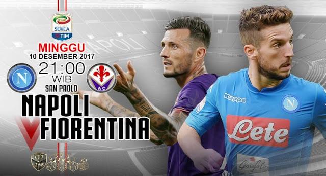 Prediksi Bola : Napoli Vs Fiorentina , Minggu 10 Desember 2017 Pukul 21.00 WIB