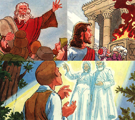 Art from the LDS book New Testament Stories