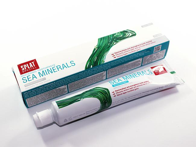 зубная паста сплат морские минералы