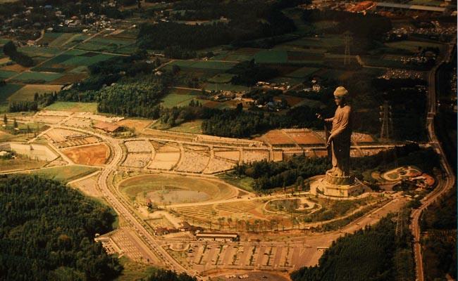 Ushiku Daibutsu Statue