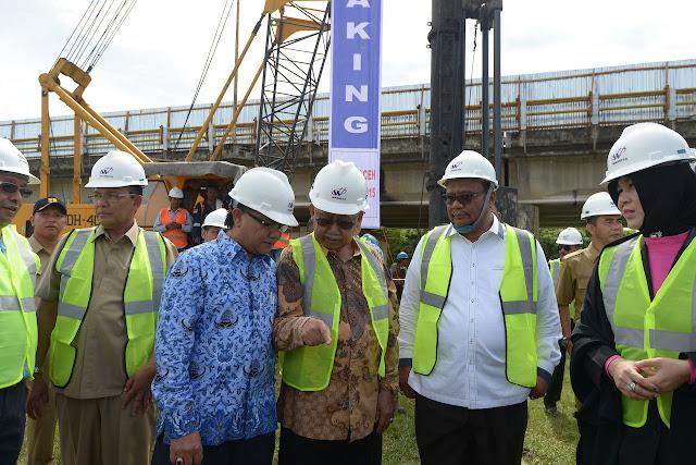 Gubernur : Banda Aceh Akan Dibangun 3 Jembatan Utama