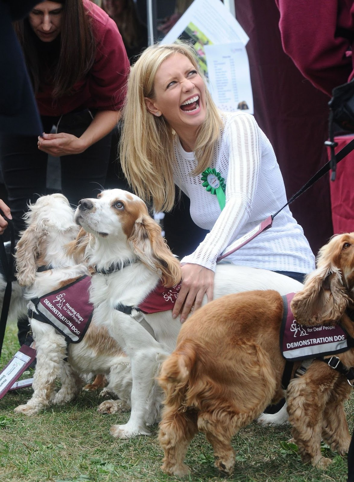 Full HQ Photos of Rachel Riley At Pupaid Anti Puppy Farming Event In Primrose Hill