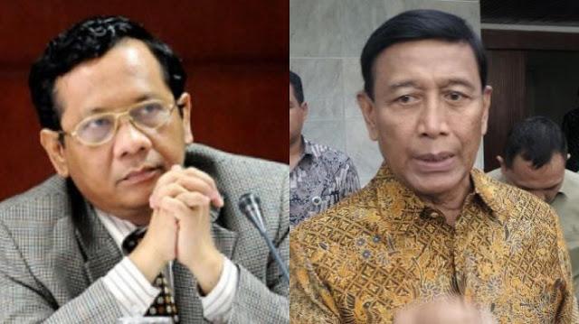 Reaksi Mahfud MD Saat Wiranto Meminta KPK Tunda Pengumuman Tersangka Calon Kepala daerah