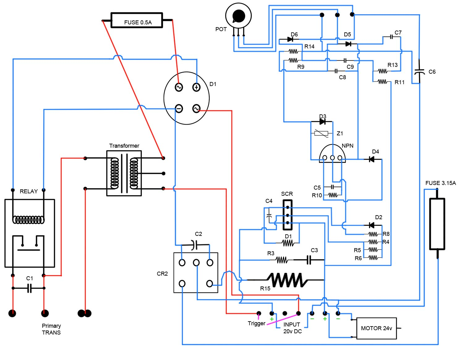 Welding Transformer Wiring Diagram Auto Electrical Cp90 Whelen Strobe Wire Tech Stuff Mig 120amp Pcb Schematic