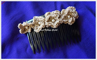 free crochet pattern for hair comb