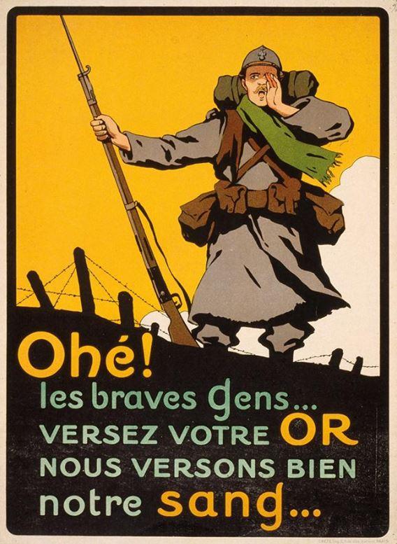 propagande française Or