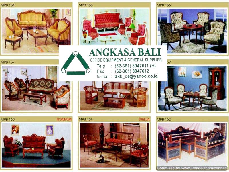 Angkasa Bali Furniture Distributor Kursi Meja Kantor Bali