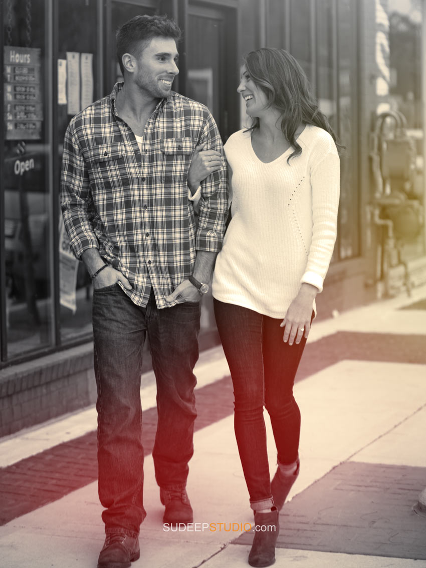 Best Ferndale Engagement Photography Session - Sudeep Studio.com Ann Arbor Photographer