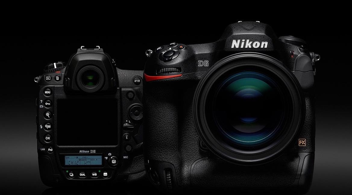 Фотоаппарат Nikon D6, сгенерированное изображение