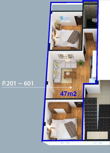 Căn hộ số 1 thuộc tầng 2-6 tòa chung cư Đông Ngạc 4C Từ Liêm