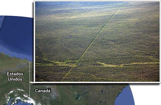 Fronteiras pelo mundo - Canadá e EUA