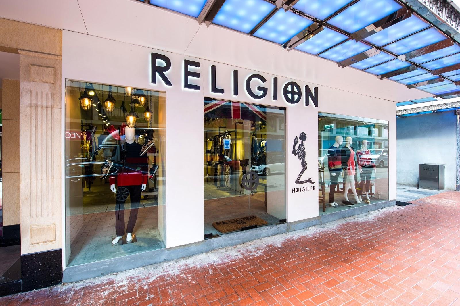 063334ac769e Religion Clothing: Religion // Hong Kong Store