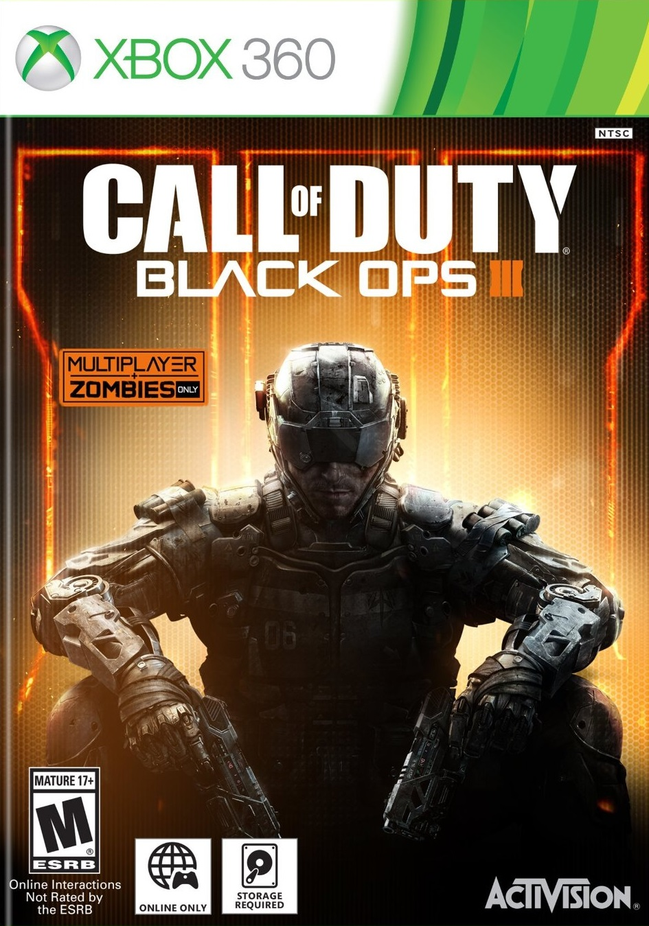 Call Of Duty Black Ops III ESPAÑOL XBOX 360 Cover Caratula