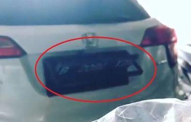 Heboh Video Plat Nomor Elektrik untuk Hindari Ganjil-Genap, Pemilik Mobil Diburu