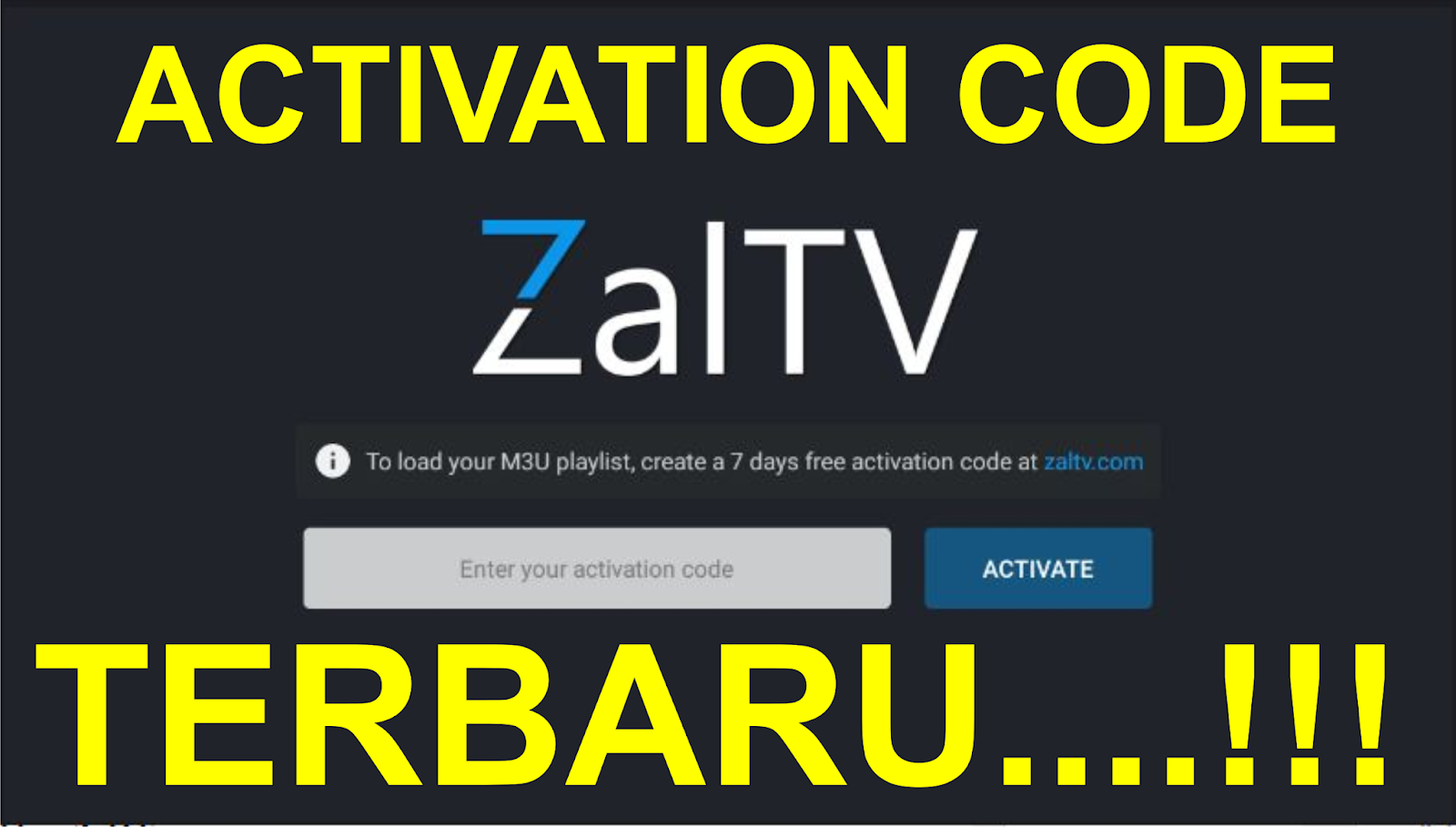 Zaltv activation code 2019 dewasa | ZALTV CODE ACTIVATION 2019  2019