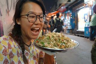 Alva dan Chow Mien di New Market