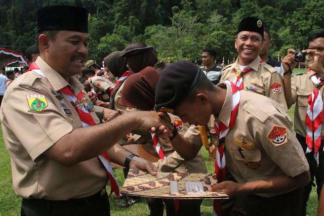 Banda Aceh Juara Umum Pramuka Saka Wira Kartika