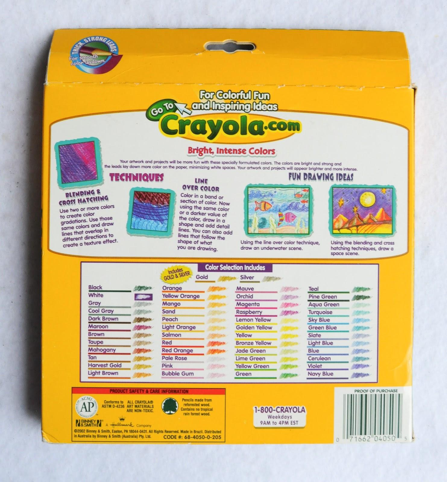 crayola colored pencils 50 count coloring crayola 50 count colored