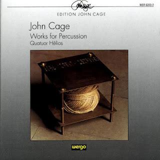 John Cage, Works for Percussion, Quatuor Hêlios, Wergo