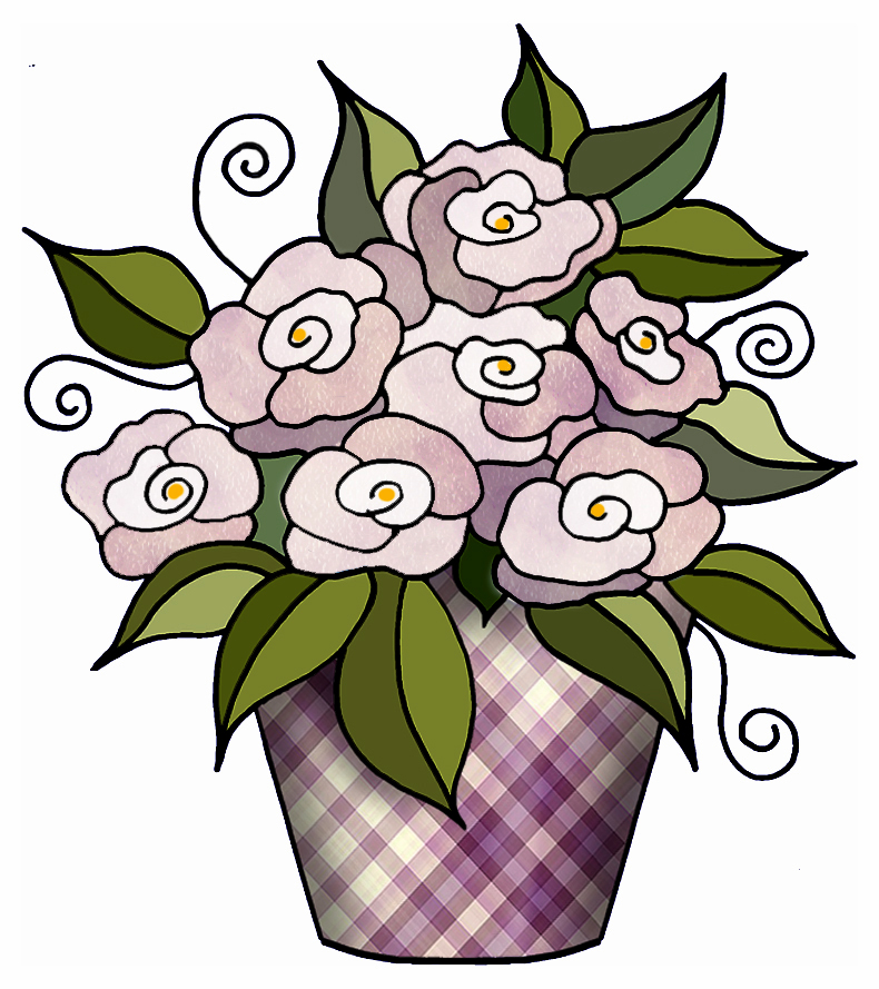 ArtbyJean - Paper Crafts: FLOWER CLIP ART - Set A18 ...