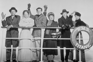 Titanic 1953 disaster movie cast Stanwyck Wagner Webb